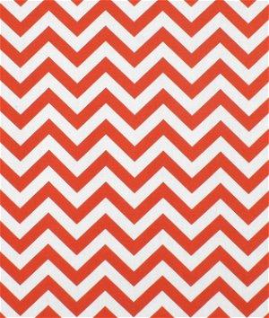Premier Prints Outdoor Zig Zag Orange Fabric
