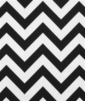 Premier Prints Zippy Black Fabric