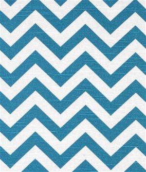 Premier Prints Zig Zag Aquarius Slub Fabric
