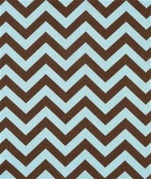 Premier Prints Zig Zag Village/Natural Fabric